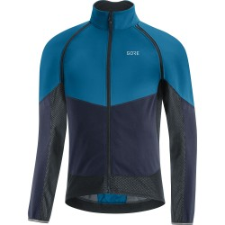 Veste coupe-vent - GORE Phantom GoreTex Infinium - bleu décor bleu nuit : membrane coupe-vent - très respirante et