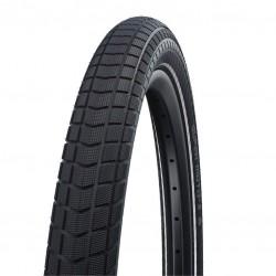Pneu 27.5p SCHWALBE vtt route Super Moto-X Addix E50 noir flancs noirs