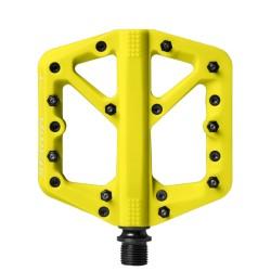 Pédales CRANKBROTHERS composite vtt bmx dh Stamp 1 Large jaune