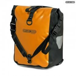 Sacoches ORTLIEB avant ou arrières latérales Sport Roller Classic F6306 orange décor noir