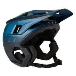 Casque vtt - FOX Dropframe Pro - Bleu pétrole décor noir : M