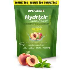 Boisson de l'effort - OVERSTIM'S Hydrixir Antioxydant - Thé-Pêche - sans acidité - Sachet 3000g.