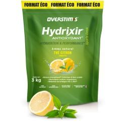Boisson de l'effort - OVERSTIM'S Hydrixir Antioxydant - Thé-Citron - sans acidité - Sachet 3000g.