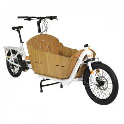 Caisse de transport bambou pour Supercargo - Yuba Bamboo Box : nécessite le Bamboo Base Board