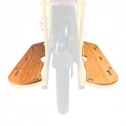 Reposes-pieds bambou - Yuba Mundo V3 Bamboo Boards : paire