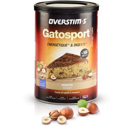 Aliment avant l'effort - OVERSTIM'S Gatosport - Noisette - Pot 400g.