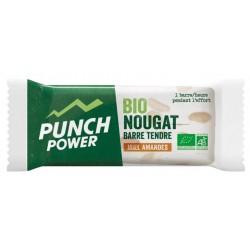 Barre énergétique - PUNCH POWER BioNougat tendre - Miel amandes : la barre