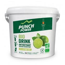 Boisson de l'effort - PUNCH POWER BioDrink Antioxydant - Citron vert : seau de 3kg