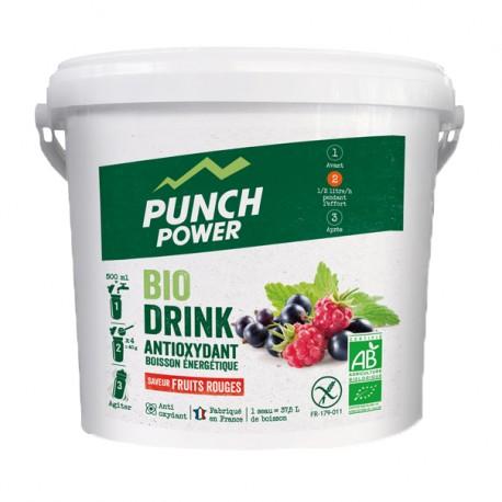 Boisson de l'effort - PUNCH POWER BioDrink Antioxydant - Fruits rouges : seau de 3kg
