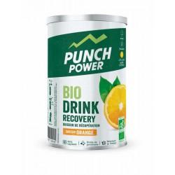 Boisson PUNCH POWER de Récupération Bio issu de l'agriculture biologique AB - Orange - 400gr - Pot.
