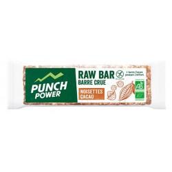 Barre énergétique - PUNCH POWER Raw Bar - Cacao Noisette : la barre