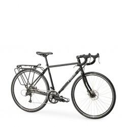 Vélo voyage 700 acier TREK 2021 520 SL Disc noir décor argent