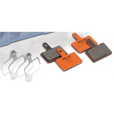 Plaquettes de frein XLC support acier BP-O07 Orange Organic