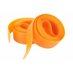 Bandes anti-crevaison pneus vélo ville vtc 28p - ZEFAL - Jaune orange