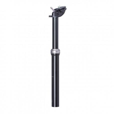 Tige de selle KS alu ajustable DropZone Remote Ext 100 noir