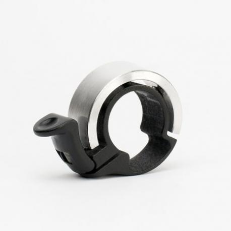 Sonnette KNOG métal Oi Bell Classic Small 22.2 argent
