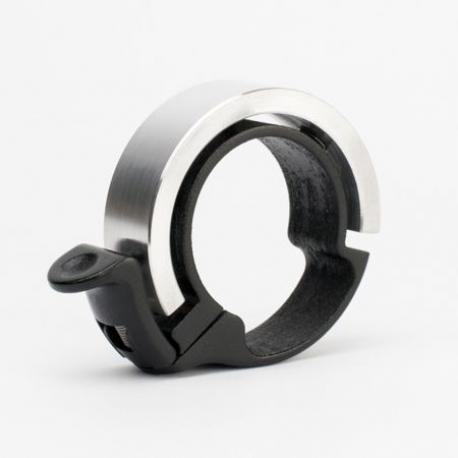 Sonnette KNOG métal Oi Bell Classic Large 31.8 argent