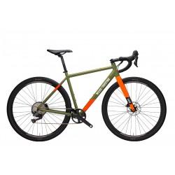 Vélo gravel 700 alu - WILIER 2021 Jareen GRX 1x11 - Vert décor orange