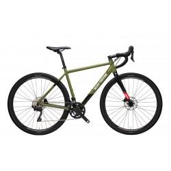 Vélo gravel 700 alu - WILIER 2021 Jareen GRX 2X10 - Vert décor noir