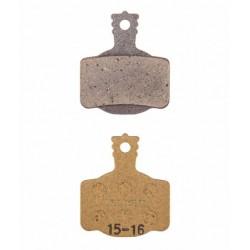 Plaquettes de frein MAGURA support acier type 7.R Race or
