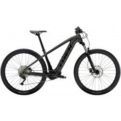 Vélo électrique VTT 29p alu - TREK 2022 PowerFly 4 500 - Gris Solid Charcoal et Noir