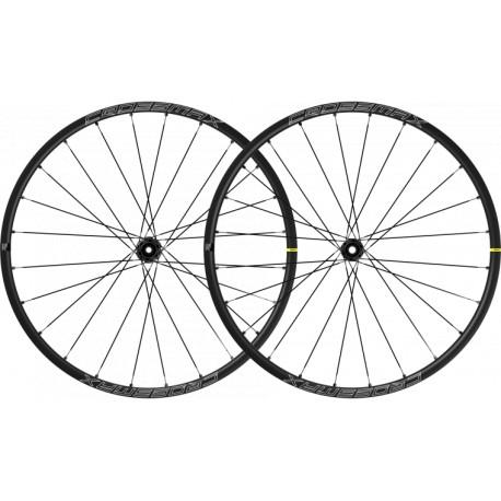 Roues à pneu 29p MAVIC vtt Crossmax SL 29 Boost ID360 XD noire décor blanc