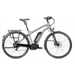 Vélo électrique vtc 28p MOUSTACHE 2017 alu Samedi 28 Titanium 400