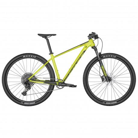 Vélo VTT 29p alu - SCOTT 2022 Scale 970 - Jaune décor noir