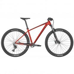 Vélo VTT 29p alu - SCOTT 2022 Scale 980 - Rouge décor noir