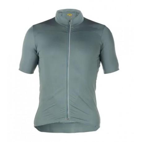 Maillot manches courtes - MAVIC Essential - vert gris
