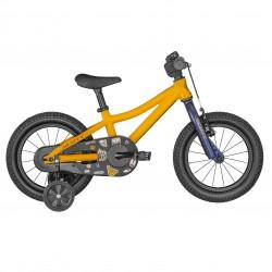 Vélo VTT enfant 3 à 5 ans alu 14p - SCOTT 2022 Roxter 14 - Orange à motifs