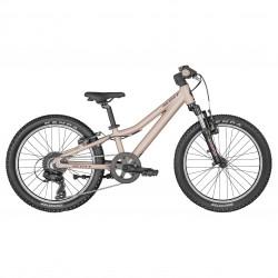 Vélo VTT enfant 5 à 8 ans 20p alu - SCOTT 2022 Contessa 20 - Rose pâle métallisé