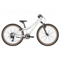 Vélo VTT enfant 8 à 11 ans 24p alu - SCOTT 2022 Contessa 24 - Blanc décor bronze