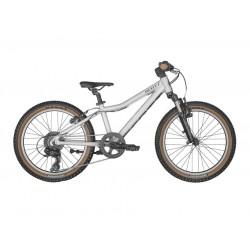 Vélo VTT enfant 5 à 8 ans alu 20p - SCOTT 2022 Scale 20 Silver - Gris décor noir