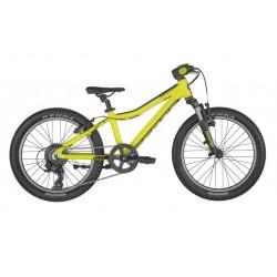 Vélo VTT enfant 5 à 8 ans alu 20p - SCOTT 2022 Scale 20 Yellow - Jaune décor noir