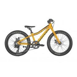 Vélo VTT enfant 5 à 8 ans alu 20p - SCOTT 2022 Scale 20 Rigid - Orange décor noir : fourche rigide