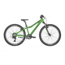 Vélo VTT enfant 8 à 11 ans alu 24p - SCOTT 2022 Scale 24 - Vert décor noir