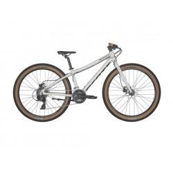 Vélo VTT enfant 11 à 13 ans alu 26p - SCOTT 2022 Scale 26 Rigid - Blanc décor noir : fourche rigide