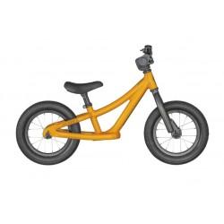 Vélo VTT draisienne enfant 18 à 30 mois alu - SCOTT 2022 Roxter Walker 12 - Orange décor noir : sans pédalier