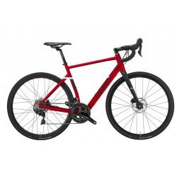 Vélo à assistance électrique VTC alu - WILIER 2021 Triestina Hybrid 250 - Rouge décor noir mat