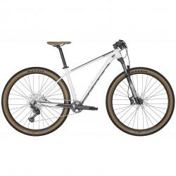 Vélo VTT 29p alu - SCOTT 2022 Scale 965 White - Blanc décor noir