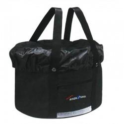 Panier avant KLICKFIX tissu bache souple Shopper Plus noir