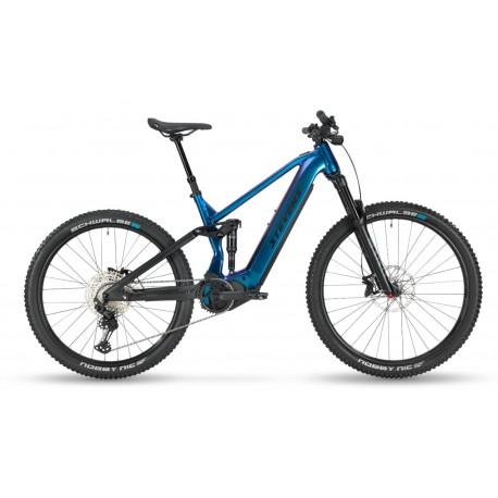 Vélo VTT électrique 29/27.5 alu - STEVENS 2021 E Inception AM 7.7 726 - Bleu Magic Blue décor noir