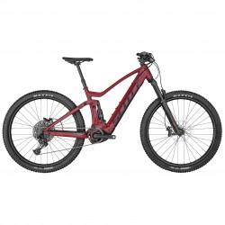 Vélo électrique VTT 29p alu - SCOTT 2022 Strike eRide 930 Red 625 - Rouge décor noir