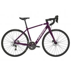 Vélo électrique route femme alu 700 - LAPIERRE 2021 E.Sensium 3.2 W 250 - Violet métallisé décor blanc