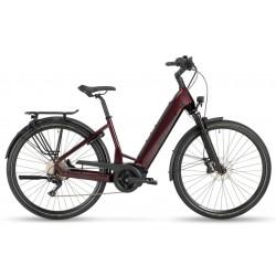 Vélo électrique urbain 28p alu - STEVENS 2021 E-Triton PT6 Forma 625 - Bleu acir brillant décor noir : 63mm