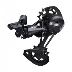 Dérailleur arrière SHIMANO vtt 12v XT 8120 Double Shadow RD+ noire chappe blocable noire