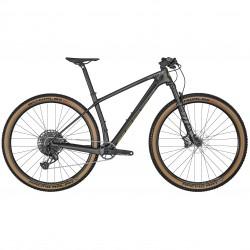 Vélo VTT 29p carbone - SCOTT 2022 Scale 910 AXS - Noir décor jaune