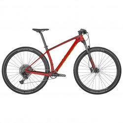 Vélo VTT 29p carbone - SCOTT 2022 Scale 940 Red - Rouge décor noir et jaune