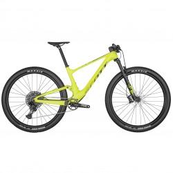 Vélo VTT 29p carbone - SCOTT 2022 Spark RC Comp Yellow - Jaune décor noir